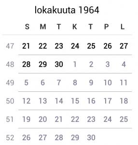 year-1964